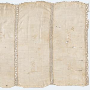 Mappàh Capuano, tela di lino e merletto ad ago