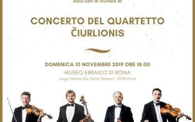 Concerto del quartetto Čiurlionis
