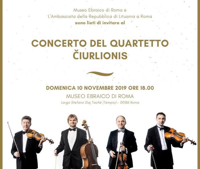 Čiurlionis quartet concert